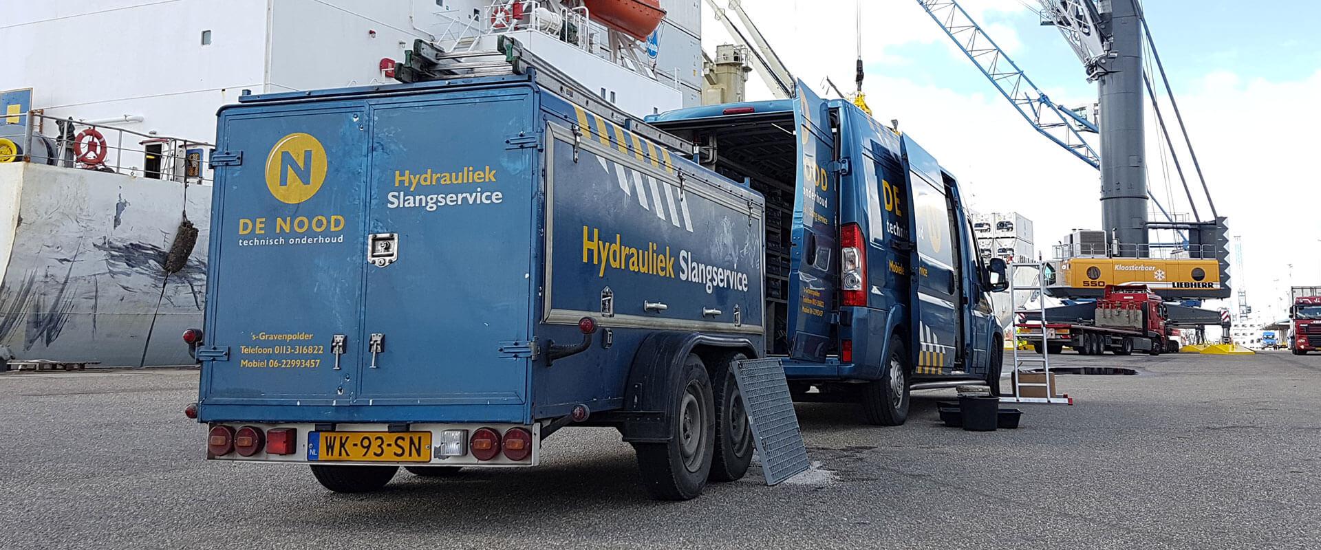 Hydrauliekservice <br> onze specialiteit