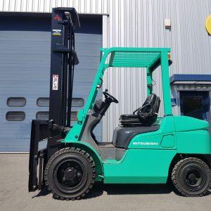Diesel aangedreven Mitsubishi heftrucks